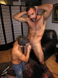 Sucking Hairy Brandon from New York Straight Men