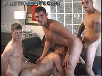 Gangbang Kody from Active Duty