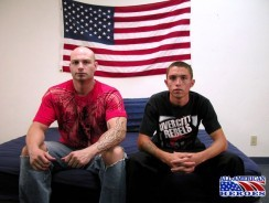 David And Trent from All American Heroes