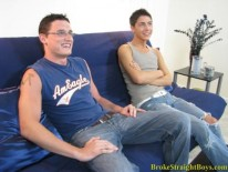 Derek And Corey Oral from Broke Straight Boys