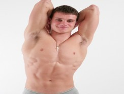 Bodybuilder Patrick from English Lads