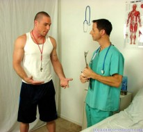 Coach And Doctor from College Boy Physicals