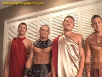 Halloween Queer Factor from Straight Fraternity