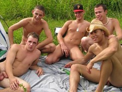 5 Man Orgy from Broke Straight Boys