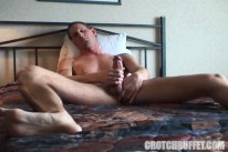 Dildo Shot from Crotch Buffet