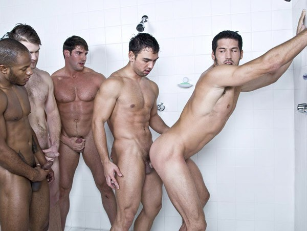 room showers orgy Mens locker