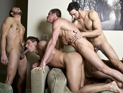 gay sex - Fucking Foursome from Randy Blue