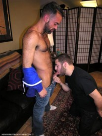 Christians Hairy Fantasy from New York Straight Men
