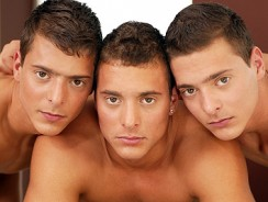 gay sex - Visconti Triplets from Bel Ami Online