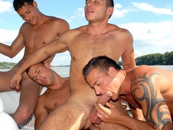 Gay Porn - Boat Love from Visconti Triplets