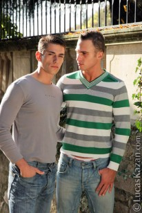 Alex And Giuseppe from Lucas Kazan
