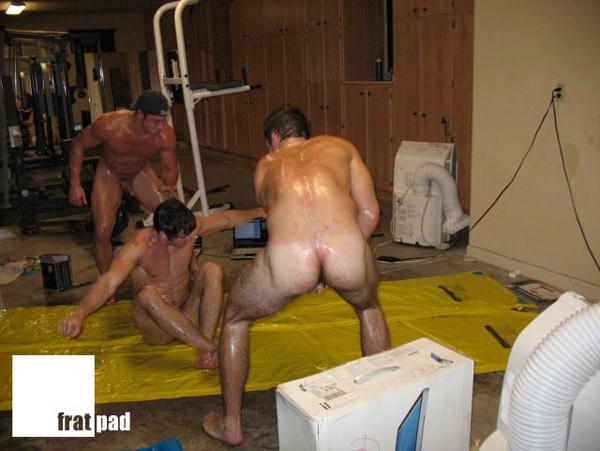 Frat Naked Oil Wrestling