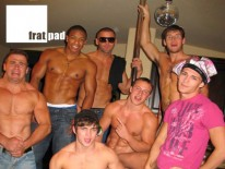 Straight Boy Strip Show from Fratpad