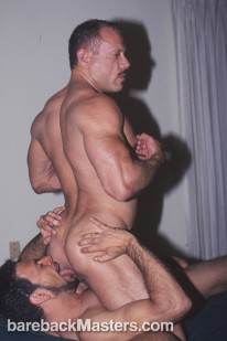 Cameron And Bruno from Bareback Masters