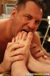 Threeway Feet Party from Daddy Mugs