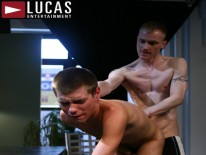 Hunks Getting Hot Facial from Lucas Entertainment