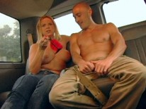 Hunk Pounds Stud In Bus from Bait Bus