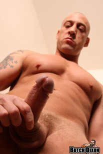 Bald Muscle Hunk Duke from Butch Dixon