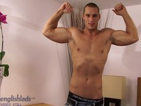 Muscle Hunk Kristian from English Lads