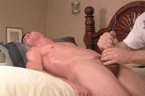 Parker 8 Inch Cock Sucked from Straight Fraternity