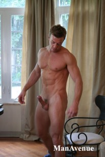 Jake Shows Big Cock from Man Avenue