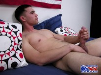 Sgt Joey Strokes Big Cock from All American Heroes