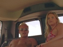Blonde Stud Gets Blowjob from Bait Bus