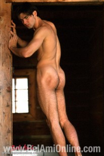 Eugen Stripping Outdoors from Bel Ami Online