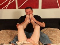 Studs Doing Foot Play from Daddy Mugs