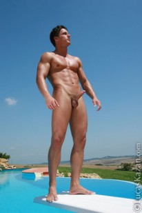 Mark Strips Poolside from Lucas Kazan