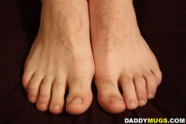 Bretts Beautiful Feet from Daddy Mugs