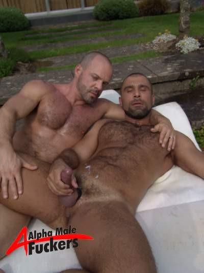 Alex and carlos fuck in the garden 9