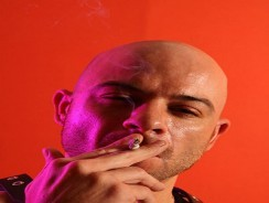 Smoking Ben Statham from Uk Naked Men
