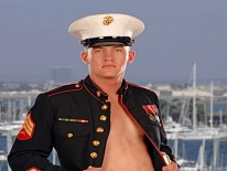 Sexy Marine Dj from Active Duty