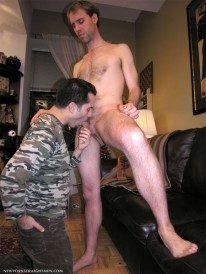 Reed Unloads from New York Straight Men