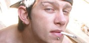 Smoking Punk Ian Madrox from Boys Smoking