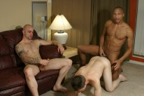 Interracial 3way from Male Spectrum Pass
