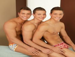 Visconti Triplets Nude from Bel Ami Online
