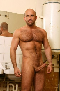 Hairy Marco Shows Off from Butch Dixon