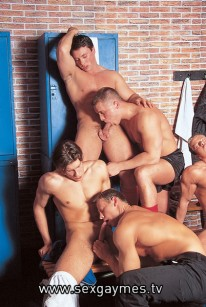 Locker Room Orgy from Sex Gaymes