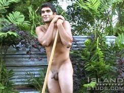 Nic Works Naked from Island Studs