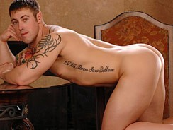 Gay Porn - Brock Shows Off from Active Duty