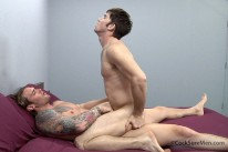 David Fucks Seth Bareback from Cocksure Men