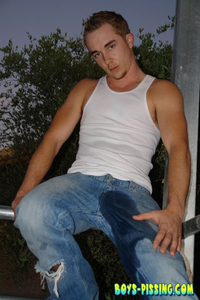 Gay jeans piss and in my man ass movie 10