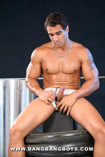 Muscle Hunk Marcos from Bang Bang Boys