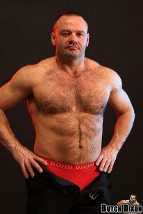 Hairy Bodybuilder John from Butch Dixon