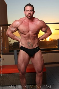 Muscle Hunk Xavier from Manifest Men