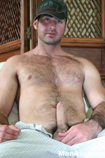 Hunky Hairy Berke from Man Avenue