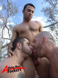 Porn Star 3way from Alpha Male Fuckers