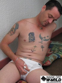 Tattooed Amateurs from Wank Off World